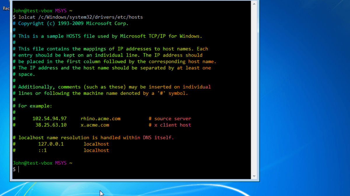 How To Get An Unix Linux Environment On Windows With Msys2 Boolean World