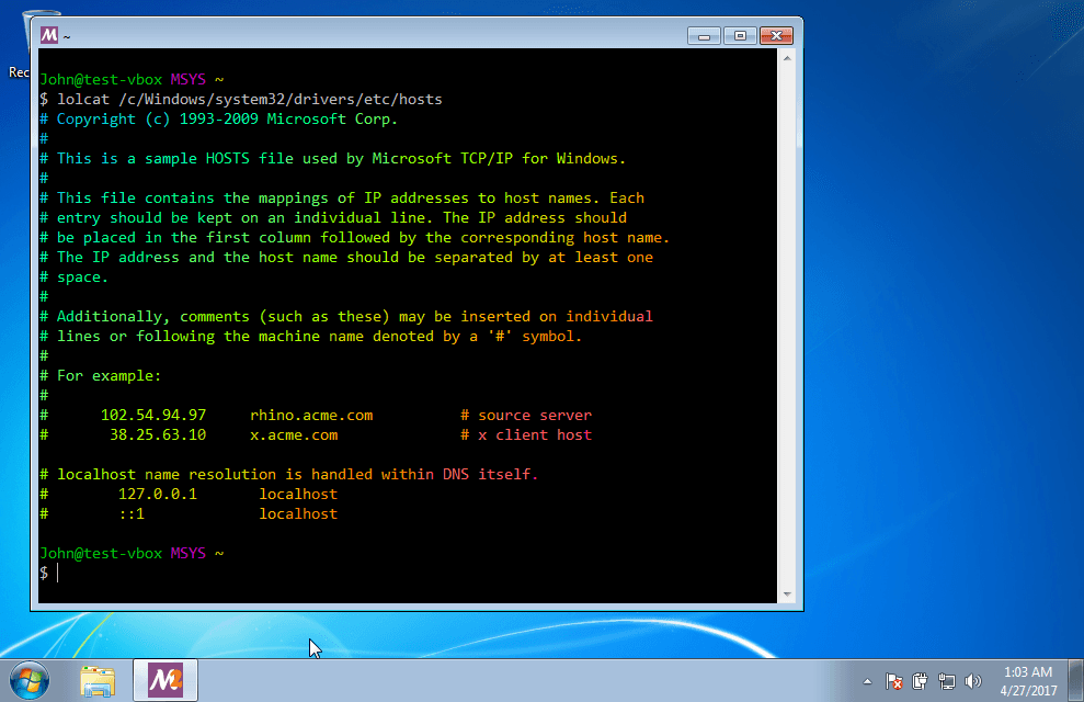How to Get an Unix/Linux Environment on Windows with MSYS2 - Boolean